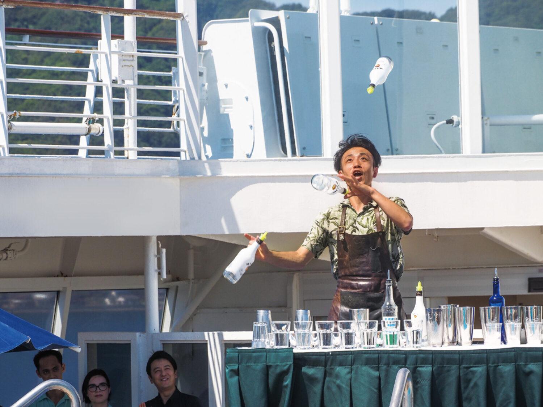 船上ビアガーデン、カジノに運動会も イベント尽くしの「飛鳥Ⅱ」秋のゆったりクルーズ